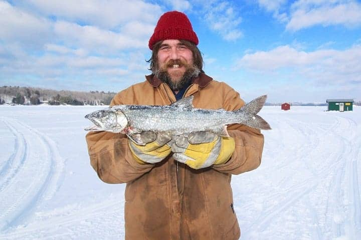 How to ice fish for trout?