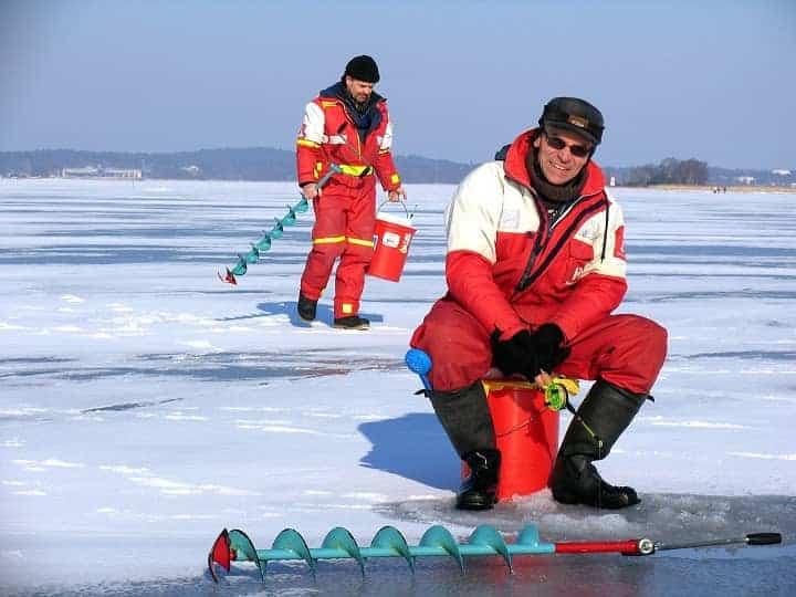How to keep Ice fishing hole from freezing?