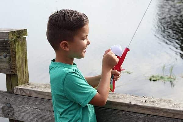 Kid Casters Youth Fishing Poles with Spincast Reels