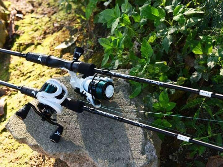 KastKing Crixus Fishing Rod and Reel Combo, Baitcasting Combo