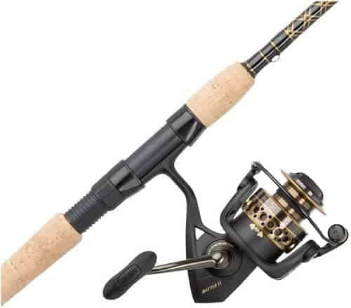 PENN Battle II, Battle III Spinning Reel and Fishing Rod Combo