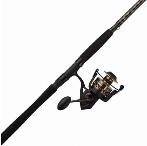 PENN Battle II, Battle III Spinning Reel and Fishing Rod