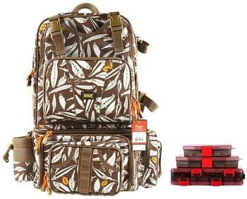 Kingdom Fishing Bag Men's Multifunctional Messenger Bag Backpack
