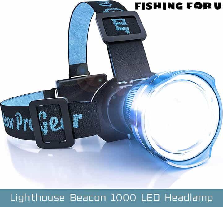 Outdoor Pro Gear Lighthouse Beacon 1000 LED Headlamp