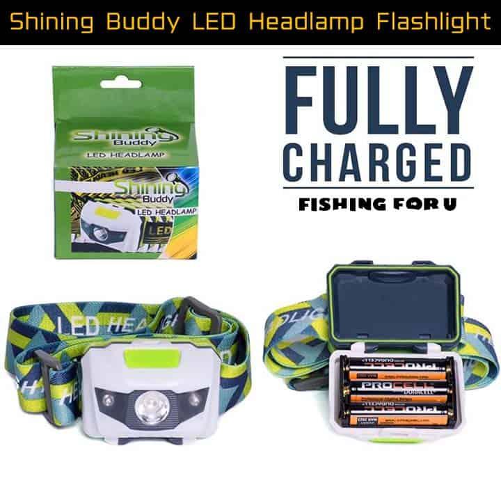 Shining Buddy LED Headlamp Flashlight