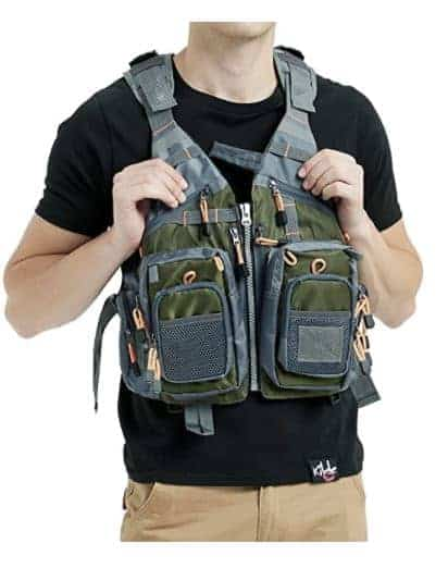 Obcursco Fly Fishing Vest for Men and Women with Breathable Mesh