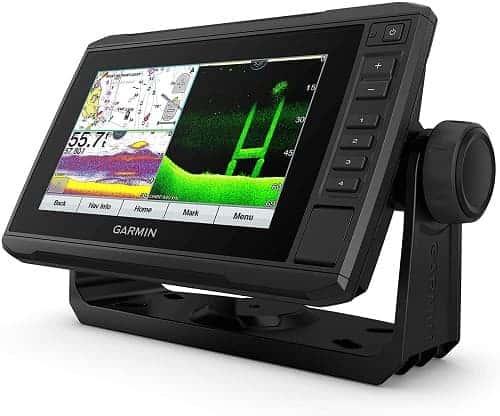 Garmin ECHOMAP UHD 74Cv, 7 Keyed-Assist Touchscreen