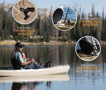 Lifetime Tamarack Angler 100 features Thumbnail