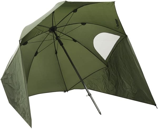 Michigan Fishing Umbrella Shelter with Top Tilt Tent-Brolly-Bivvy with FREE Carry Bag